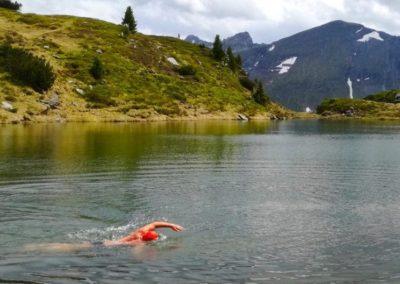 Alpin schwimmen